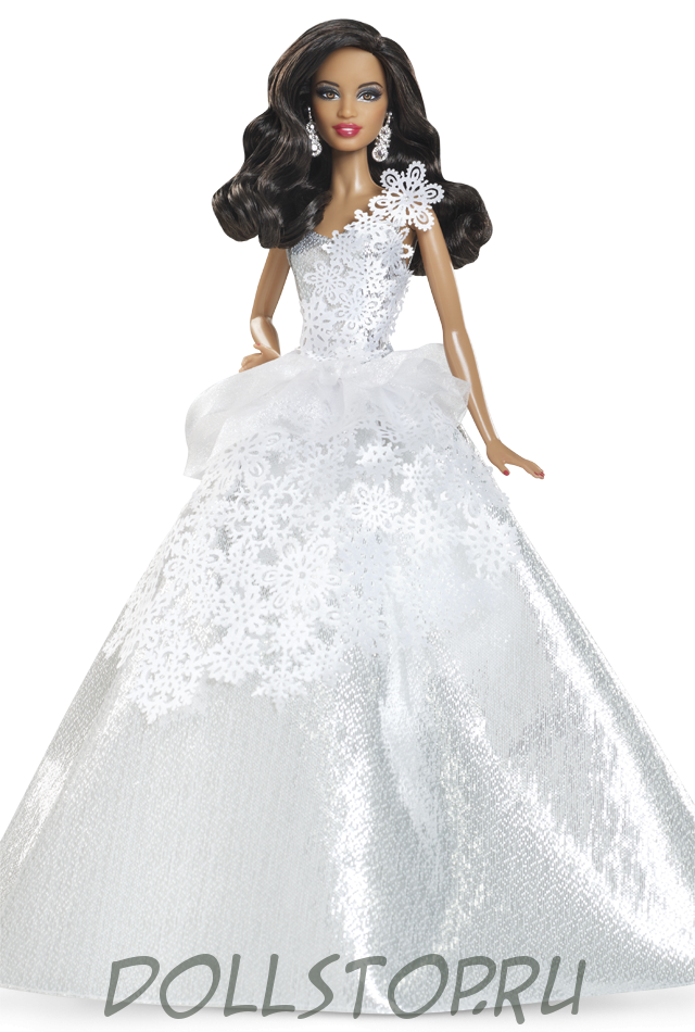 2014 2014 holiday barbie doll