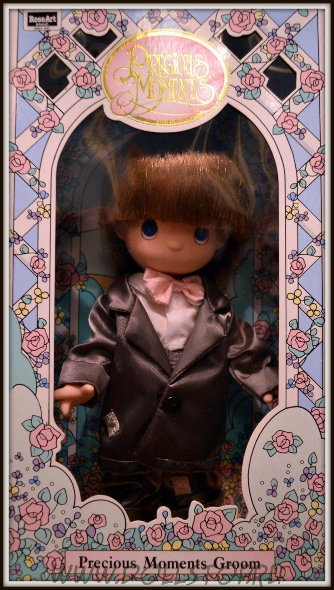 Кукла Драгоценные моменты Жених  Andrew - Precious Moments Groom Andrew doll 1992